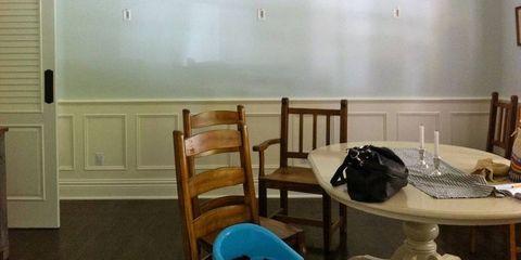 Wood, Room, Table, Furniture, Wall, Wood stain, Interior design, Hardwood, Fixture, Plywood,