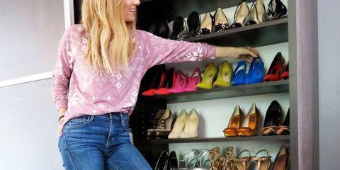 Denim, Jeans, Shelf, Textile, Shelving, T-shirt, Fashion, Drink, Retail, Collection,