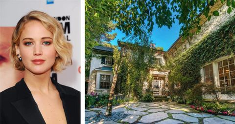 See Inside Jennifer Lawrence's New Beverly Hills Mansion — Formerly Owned By Jessica Simpson