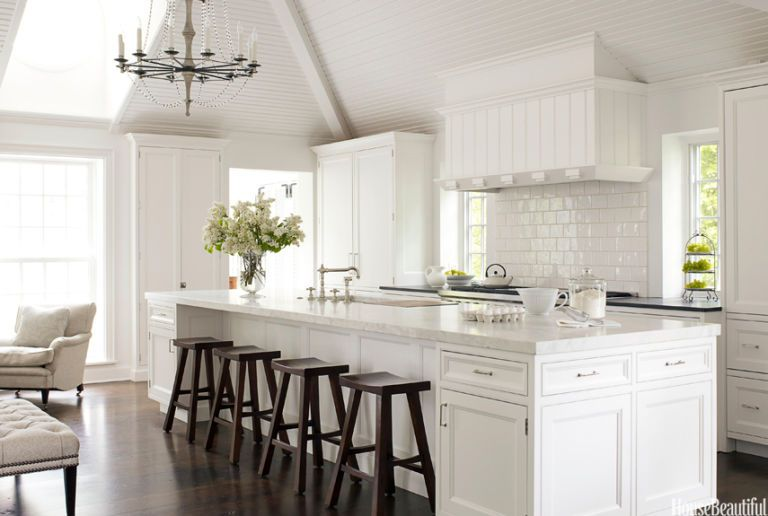 White Kitchen Decorating Ideas - Mick de Giulio Kitchen Design