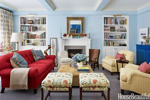 striped armchairs