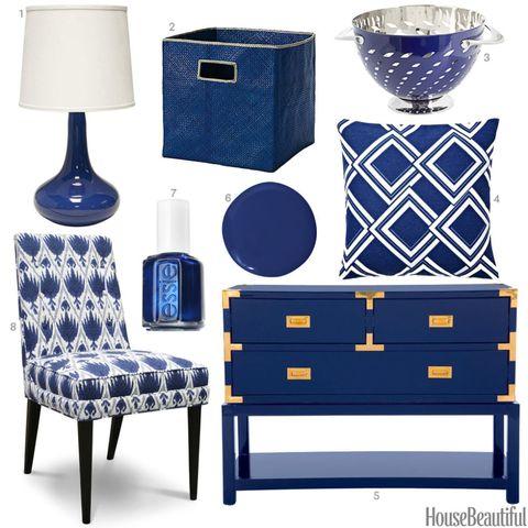 Shire Blue Home Decor