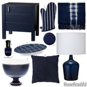inky blue accessories