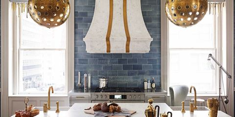 Inside a Kitchen That's the Right Mix of Feminine and Masculine