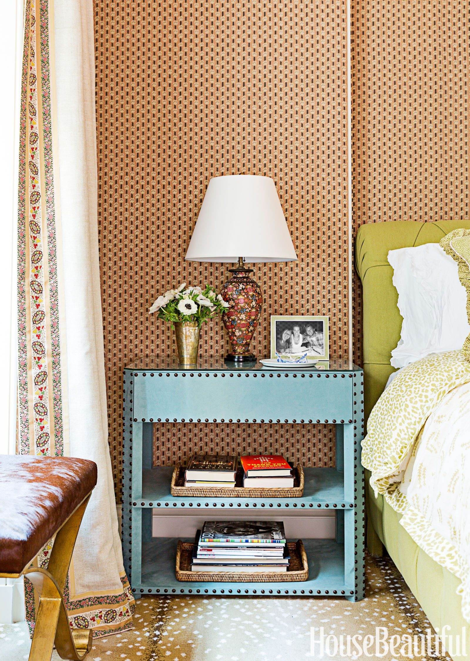 bedside table tips - how to choose a nightstand How Tall Should a Bedside Table Be
