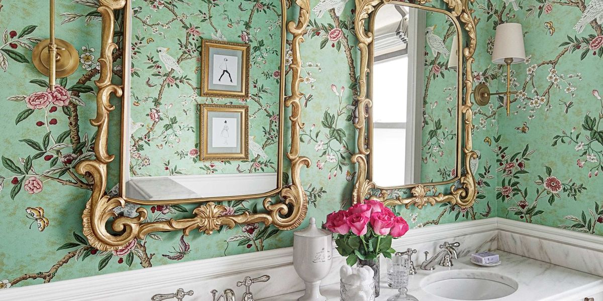 Young Girls Glamorous Bathroom - Kids Bathroom Design Ideas