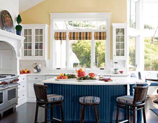 yellow kitchen designed by kari cusack