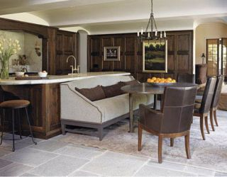 paneled kitchen