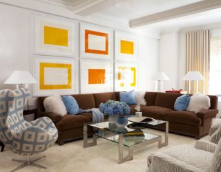 Park Avenue Apartment Design - Modern New York Decorating Ideas
