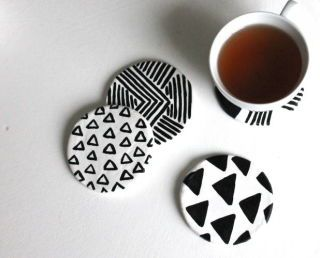 14 DIY Coasters To Cheer Up Your Coffee Table