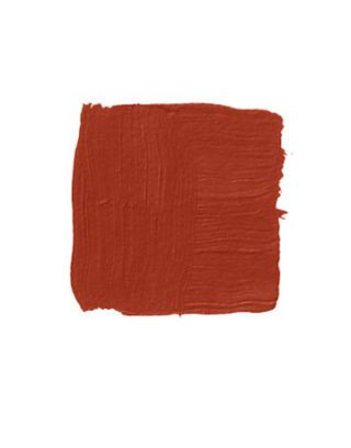 brownish red paint swatch