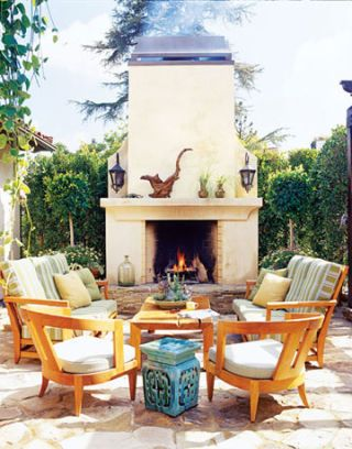 Romantic Outdoor Rooms