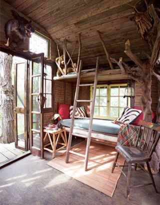 Cottage outdoor room