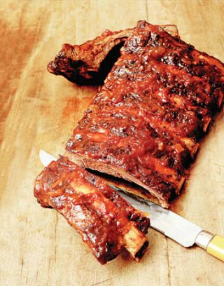 spice roasted rack of ribs