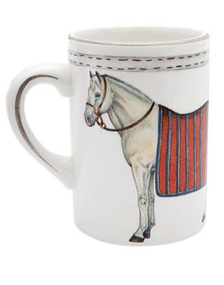 mug with horse
