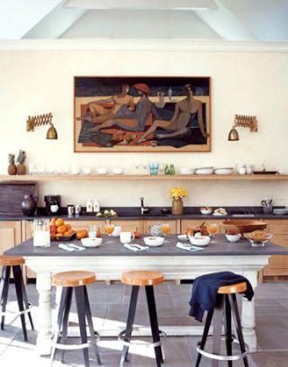 poolhouse kitchen
