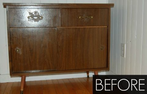 Before & After: A Worn Buffet Gets the Love It Deserves