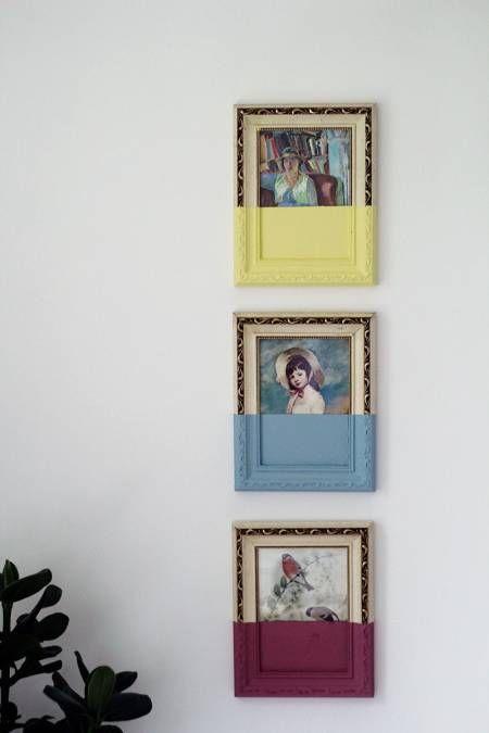 DIY or DI-Don't: Paint Dipped Artwork