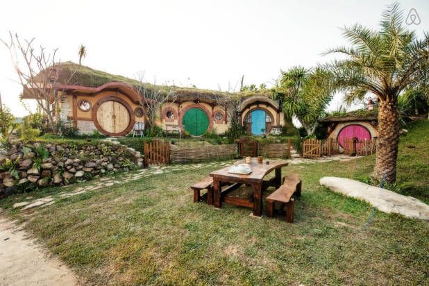 Now You Can Vacation In A Real-Life Hobbit House
