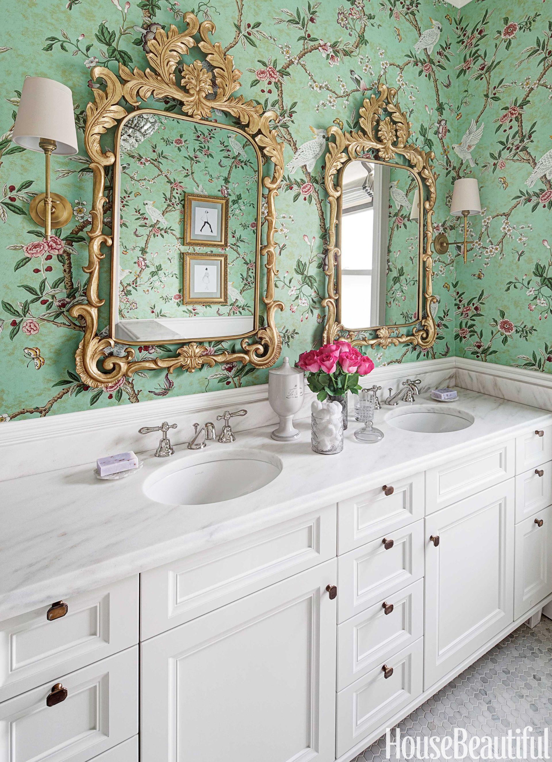 Young Girls Glamorous Bathroom - Kids Bathroom Design Ideas