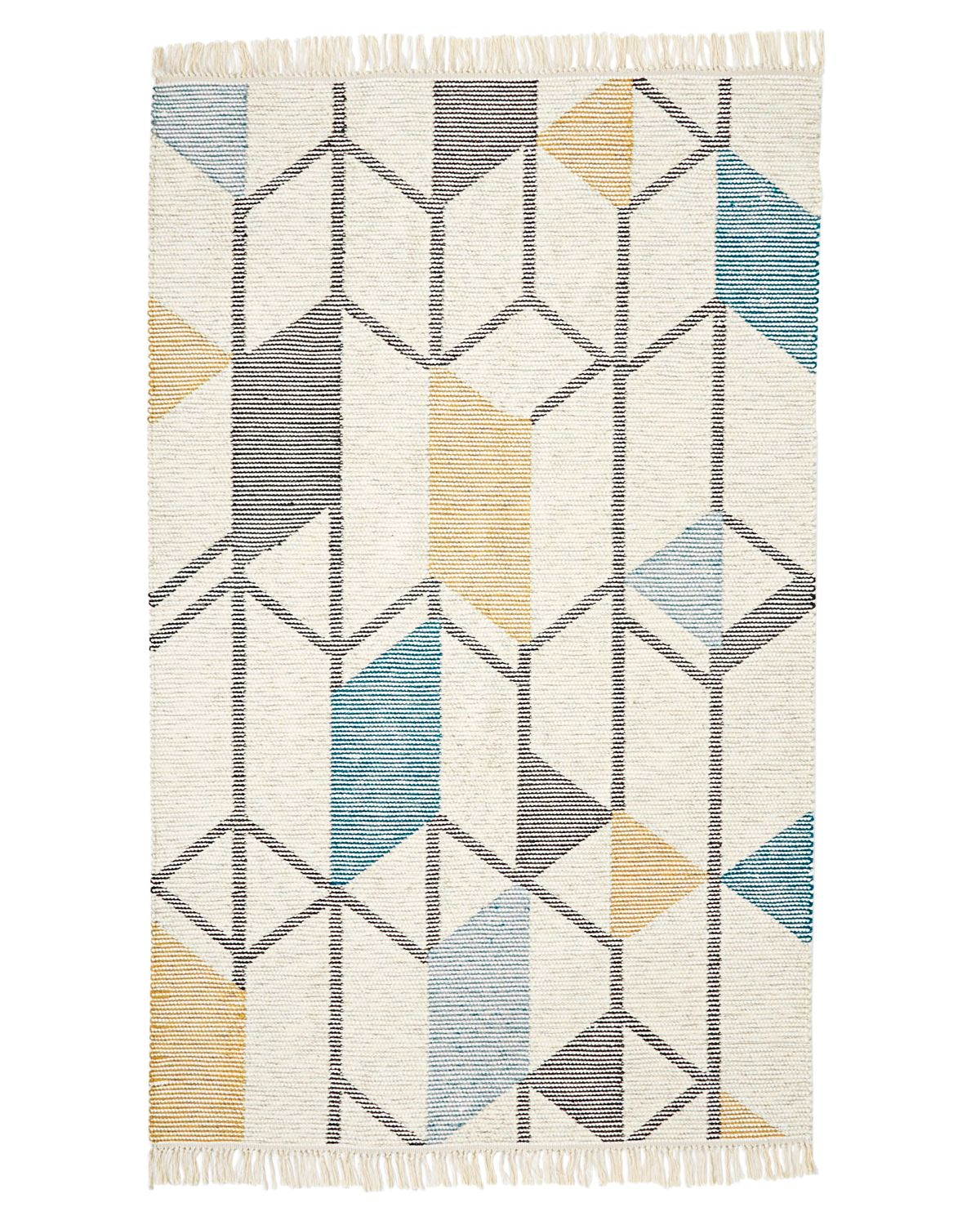 abstract angles west elm rug