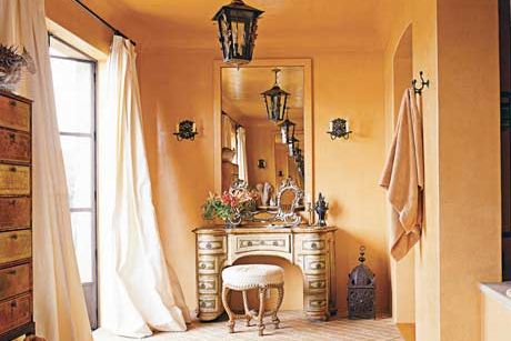 Room With Yellow Walls