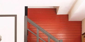 Painting Accent Walls Paint Colors For One Wall - Deep red accent wall