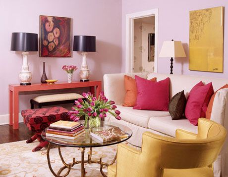 Color is Fun living room.