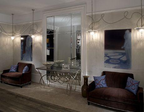 Bold and Glamorous Sitting Room