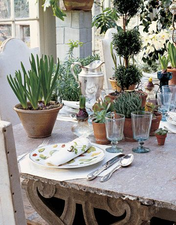 Garden Table Outdoors Bunny Williams