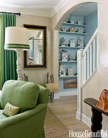 white stairwell
