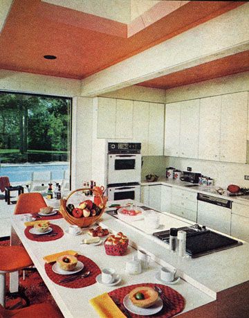 cheerful kitchen - 1970s Kitchen
