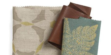 multiple fabric swatches of different patterns