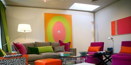 colorful living room design by eileen kathryn boyd