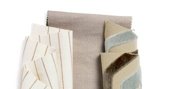 four fabric swatches