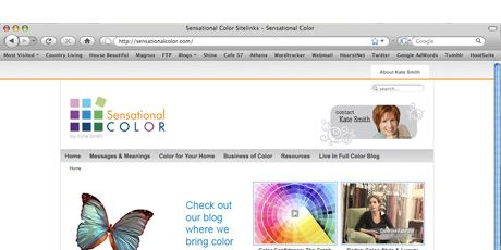 sensational color web site