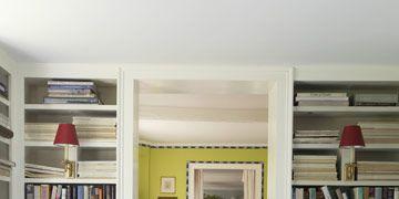 hardwood floors painted green