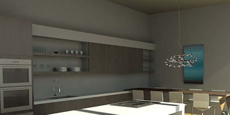 kitchen of the year rendering
