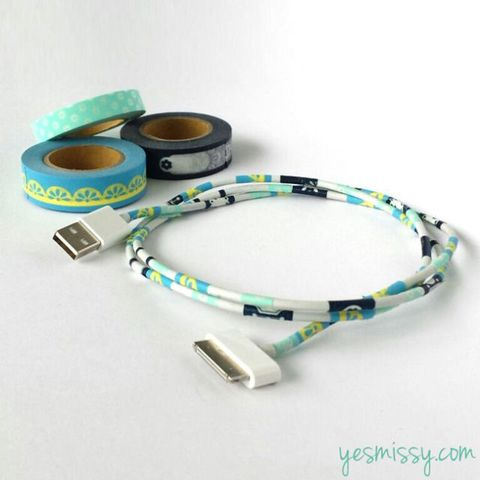 washi tape power cords