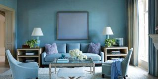 blue decorating