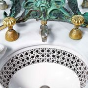 faux caning basin