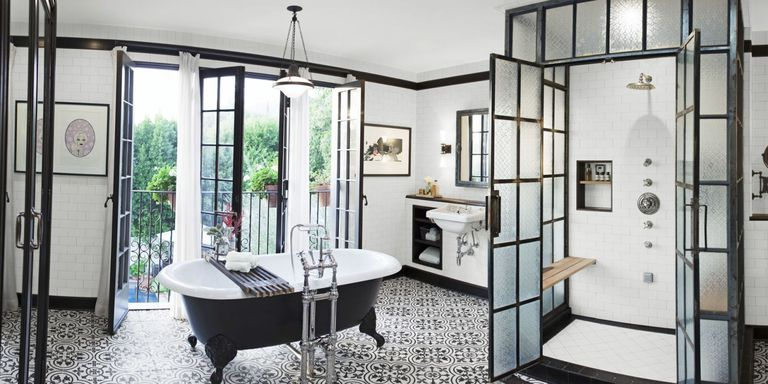 industrial chic bathroom - Bathroom Design Ideas