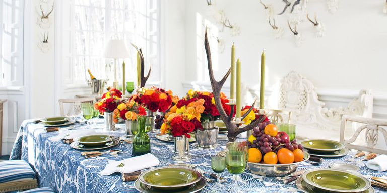 20 Best Thanksgiving Centerpieces - Ideas for Thanksgiving Table ...