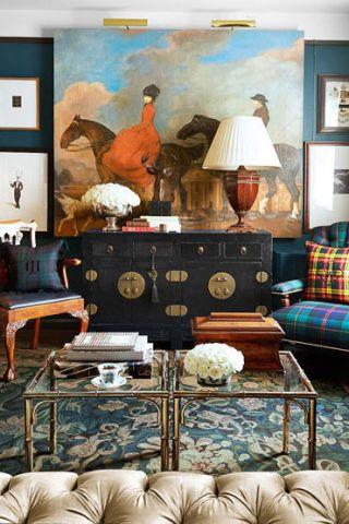 lacquered tansu design chest