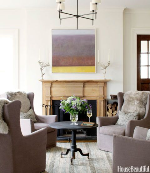 Modern Country Living Room Decor: Modern Country House Design