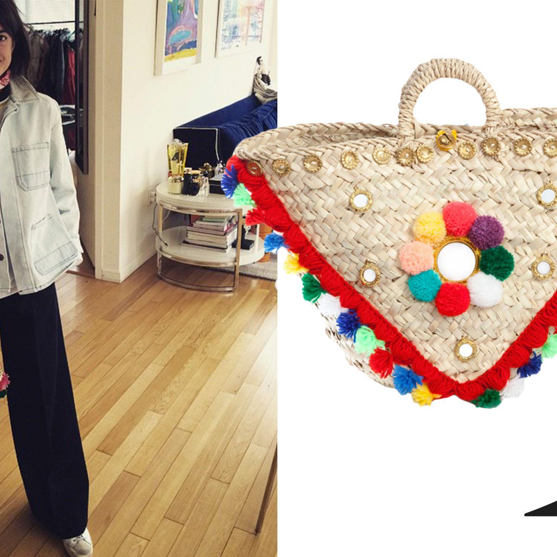 """<a href=""""http://instagram.com/manrepeller"""">@manrepeller</a><em>Muzungu Sisters bag, $310, <a href=""""http://shop.harpersbazaar.com/designers/muzungu-sisters/sicilian-basket-ii/"""">shopBAZAAR.com</a>.</em>"""