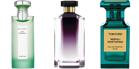 "<p>""I don't have a signature scent as I am always adding to my collection! But still in the rotation after over 10 years are Bulgari The Vert, Stella by Stella McCartney and, since its launch a few years ago, Tom Ford Neroli Portofino.""</p> <p><strong>Bulgari</strong> Eau Parfumee au thé vert, $65, <a href=""http://www.sephora.com/eau-parfumee-green-tea-P0847?skuId=7237&om_mmc=ppc-GG&mkwid=6Ou5k4uE&pcrid=50233218639&pdv=c&site=us_search&country_switch=us&lang=en&gclid=CIDJ15yhq8MCFSIV7AodKAYA0w"">sephora.com</a>; <strong>Stella McCartney</strong> Stella, $92, <a href=""http://www.sephora.com/stella-P50714?skuId=1646439"">sephora.com</a>; <strong>Tom Ford</strong> Neroli Portofino, $215, <a href=""http://www.barneys.com/Tom-Ford-Neroli-Portofino-Spray/00505022891532,default,pd.html?gclid=CNu5xOWhq8MCFQQQ7Aod2QoAkA"">barneys.com</a>.</p>"