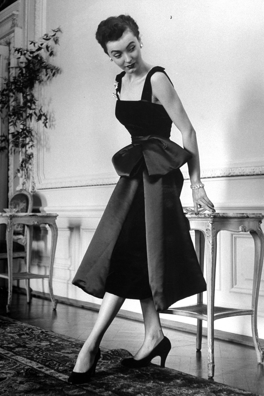 Christian Dior\'s New Look 1940\'s - Vintage Dior Fashion Photos