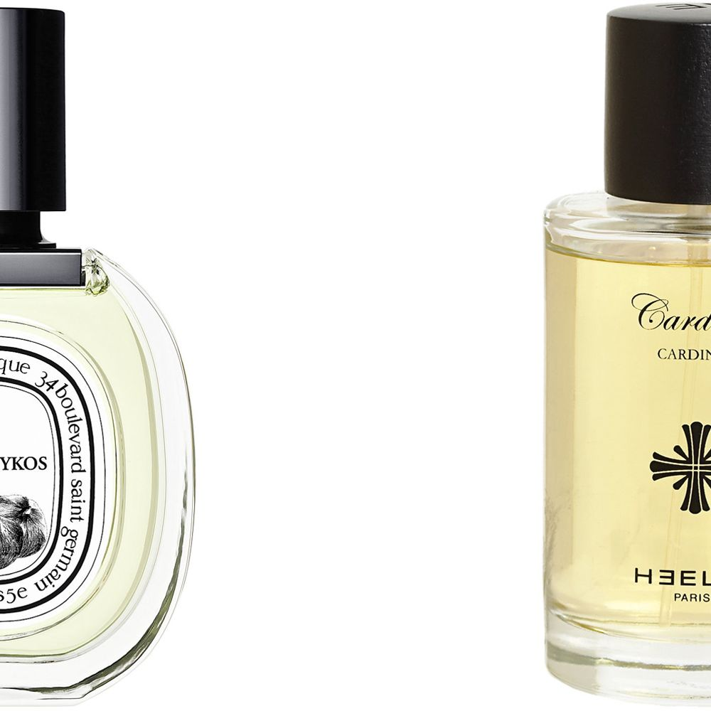 """<p>""""I alternate between two fragrances depending on the season: Cardinal from Heely and Philosokos from Diptyque.  Cardinal is lighter for warmer months and Philosokos for the cold.""""</p><p><strong>Diptyque</strong> Philosykos, $125, <a href=""""http://www.diptyqueparis.com/philosykos-edt.html"""">diptyqueparis.com</a>&#x3B; <strong>Heely</strong> Cardinal, $180, <a href=""""http://www.luckyscent.com/product/31505/cardinal-by-heeley?utm_source=google-base&amp&#x3B;utm_medium=cpc&amp&#x3B;utm_campaign=google-base&amp&#x3B;gclid=CK2IsMmiq8MCFcXm7AodzEsA-A"""">luckyscent.com</a>.</p>"""