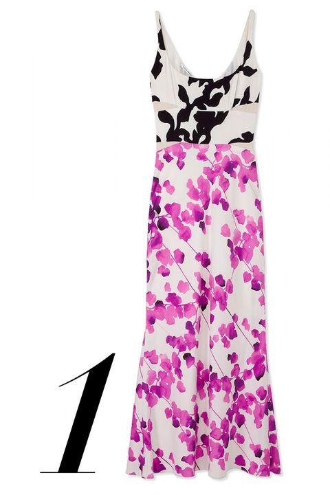"""<p><em>Narciso Rodriguez dress, $2,395, <a href=""""http://shop.harpersbazaar.com/designers/narciso-rodriguez/narciso-rodriguez-printed-floral-silk-dress/"""" target=""""_blank"""">shopBAZAAR.com</a>. </em></p>"""